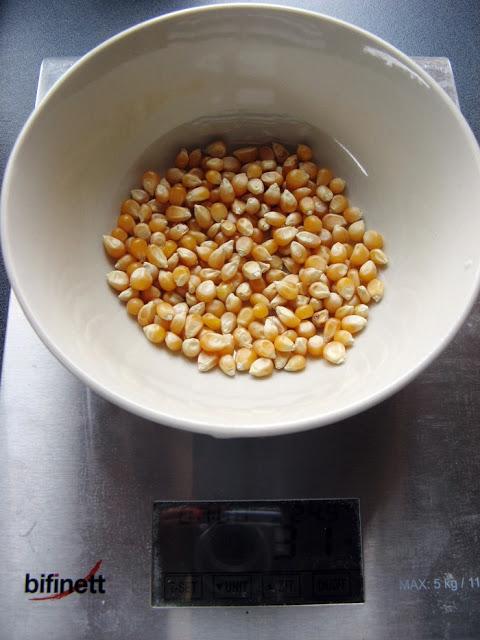 Zdrowszy beztłuszczowy popcorn!
