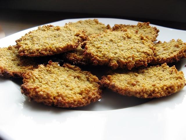 Zdrowe ciastka sojowe