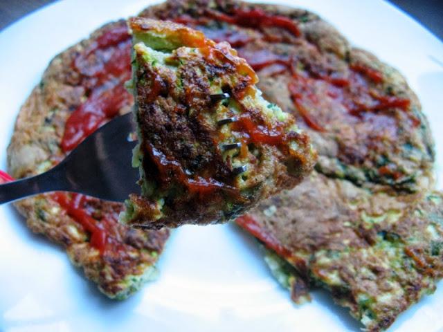 Prowansalski omlet z cukinią
