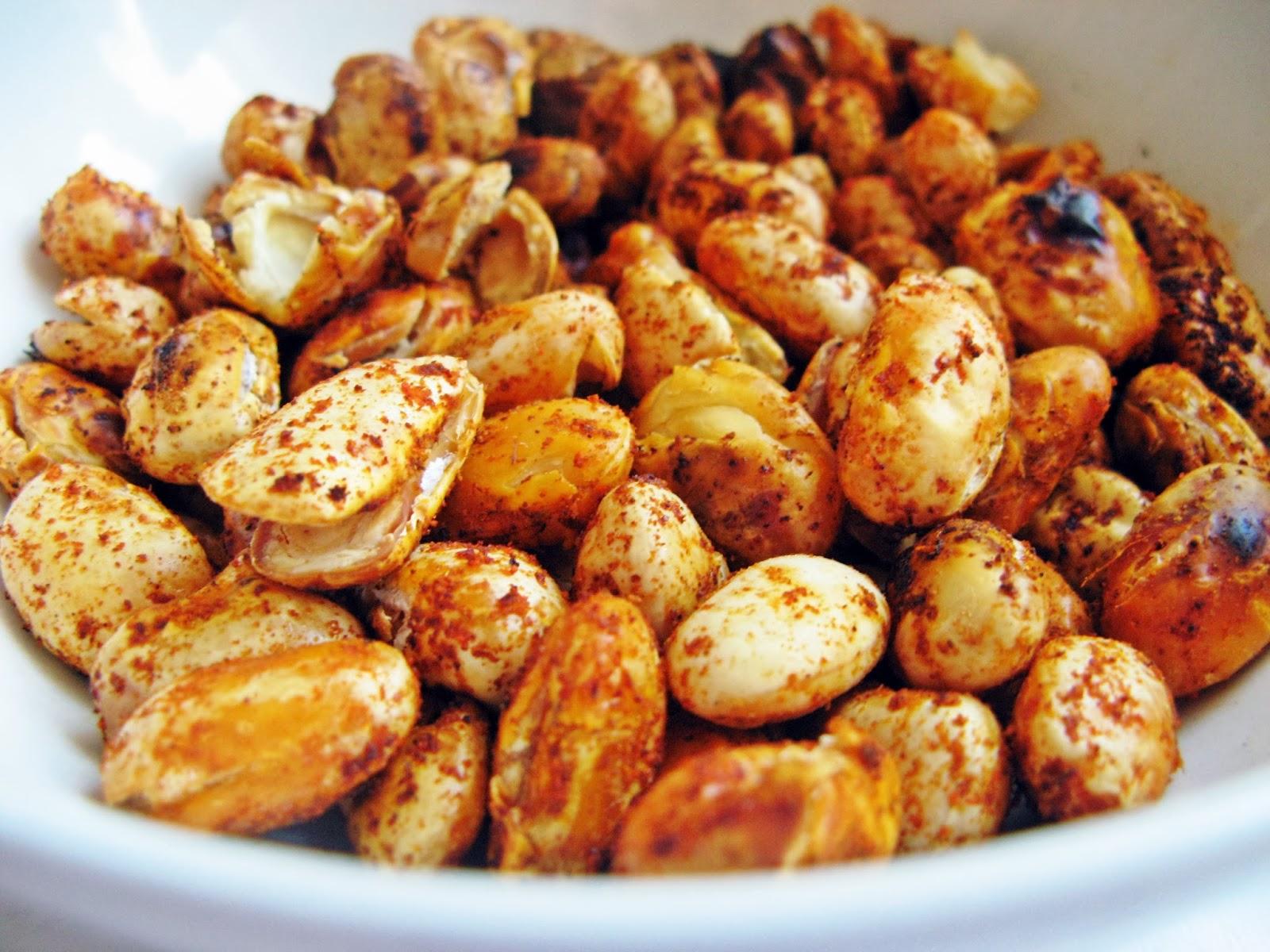 Dietetyczna przekąska, czyli chrupiące orzeszki z fasoli