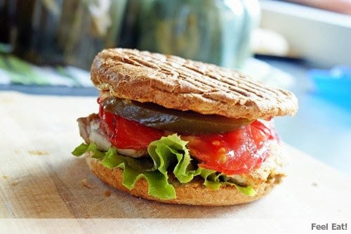 Zdrowy hamburger drobiowy :)