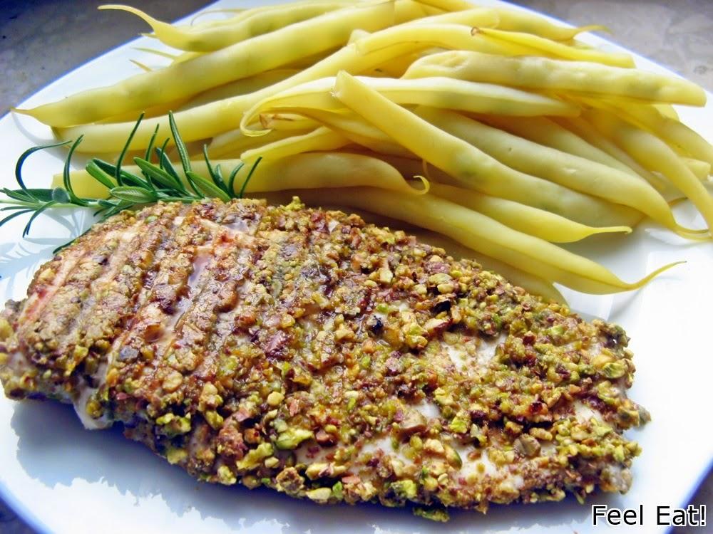 Grillowana pierś z kurczaka w pistacjach