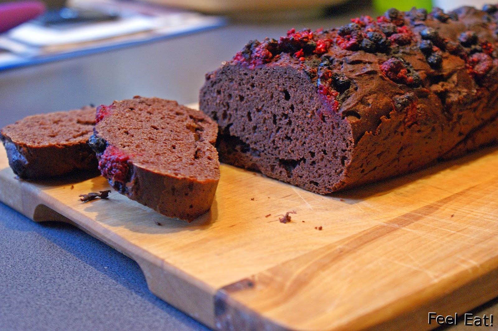 Ciasto czekoladowe bez cukru (z dodatkiem mąki ryżowej)