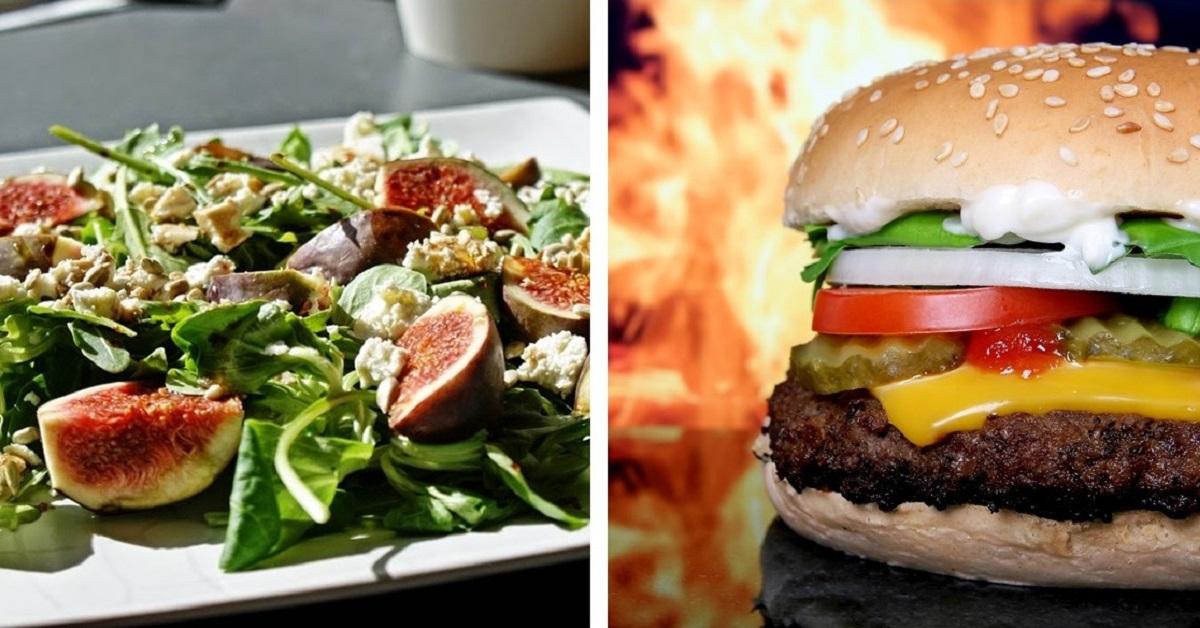 Ile kalorii ma jedzenie z McDonald's i Salad Story? Sprawdź!