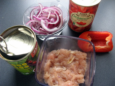 IMG 4755 - Chili con carne w wersji zdrowszej :)