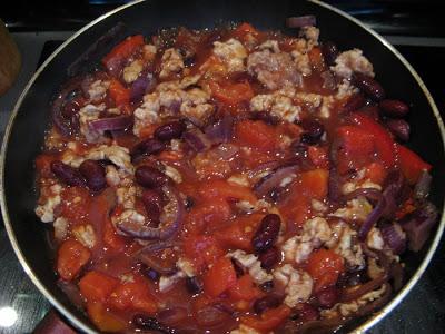 IMG 4759 - Chili con carne w wersji zdrowszej :)
