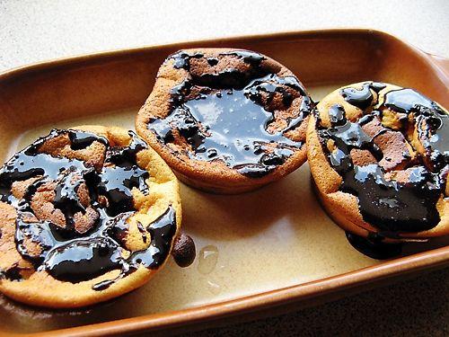 Budyniowe mini serniczki o smaku waniliowym