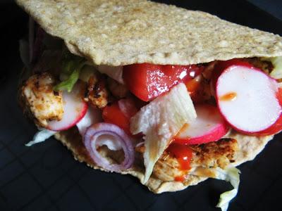 Picture 035 - Domowa tortilla z kurczakiem i warzywami