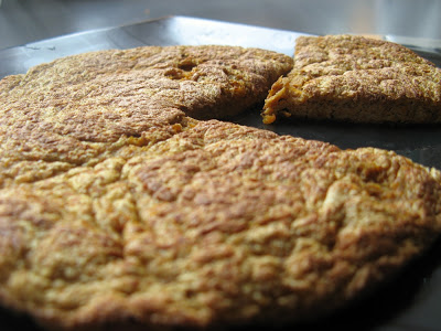 Omlet z marchewką i cynamonem bez cukru i bez mąki