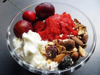 Picture 030 - W upalny dzień - sorbet truskawkowy przygotowany bez maszynki do lodów