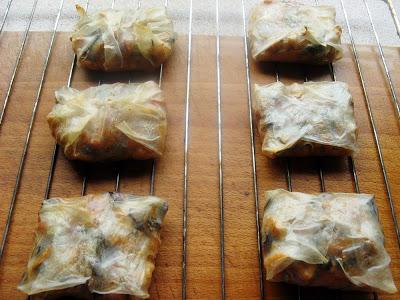 IMG 6873 - Sajgonki light z piekarnika z kurczakiem i warzywami