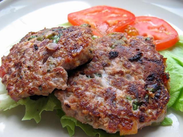 Picture 099 - Zdrowe burgery indycze z oliwkami i marynowaną papryką