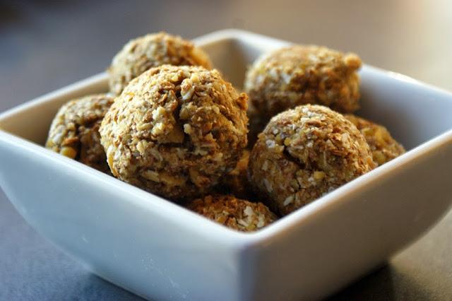 Ciasteczka sojowe z wiórkami kokosowymi