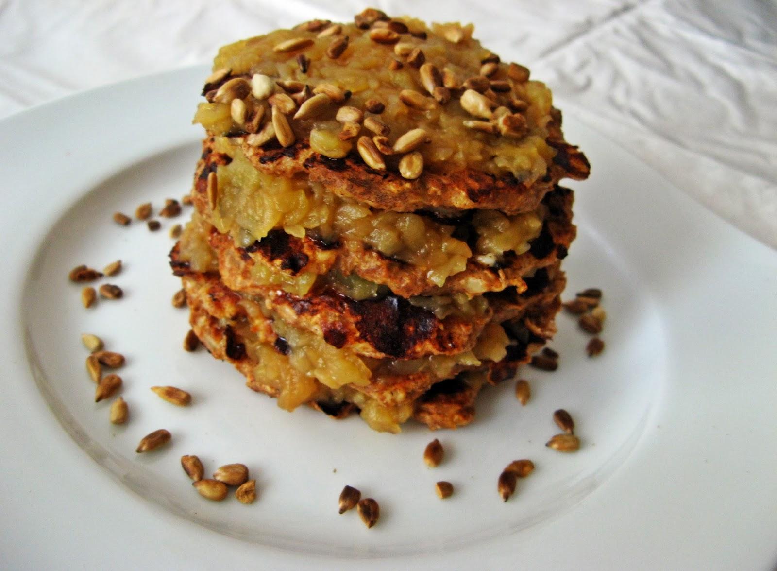 Dietetyczne placki z serka wiejskiego bez mąki