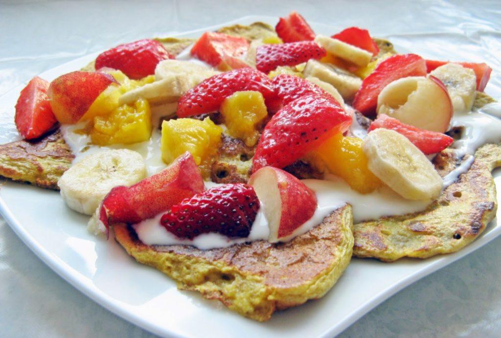 IMG 1461 1024x691 - Śniadaniowe pełnoziarniste placki z serka wiejskiego