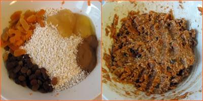 page - Ciasteczka marchewkowe z poppingiem i suszonymi owocami