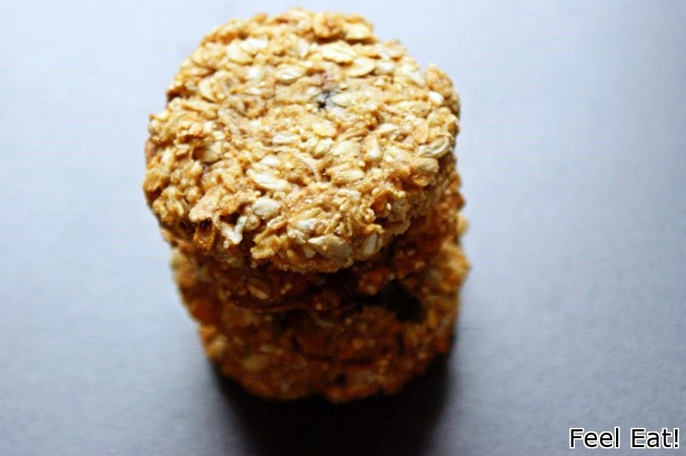 DSC06479 - Orkiszowe ciasteczka musli
