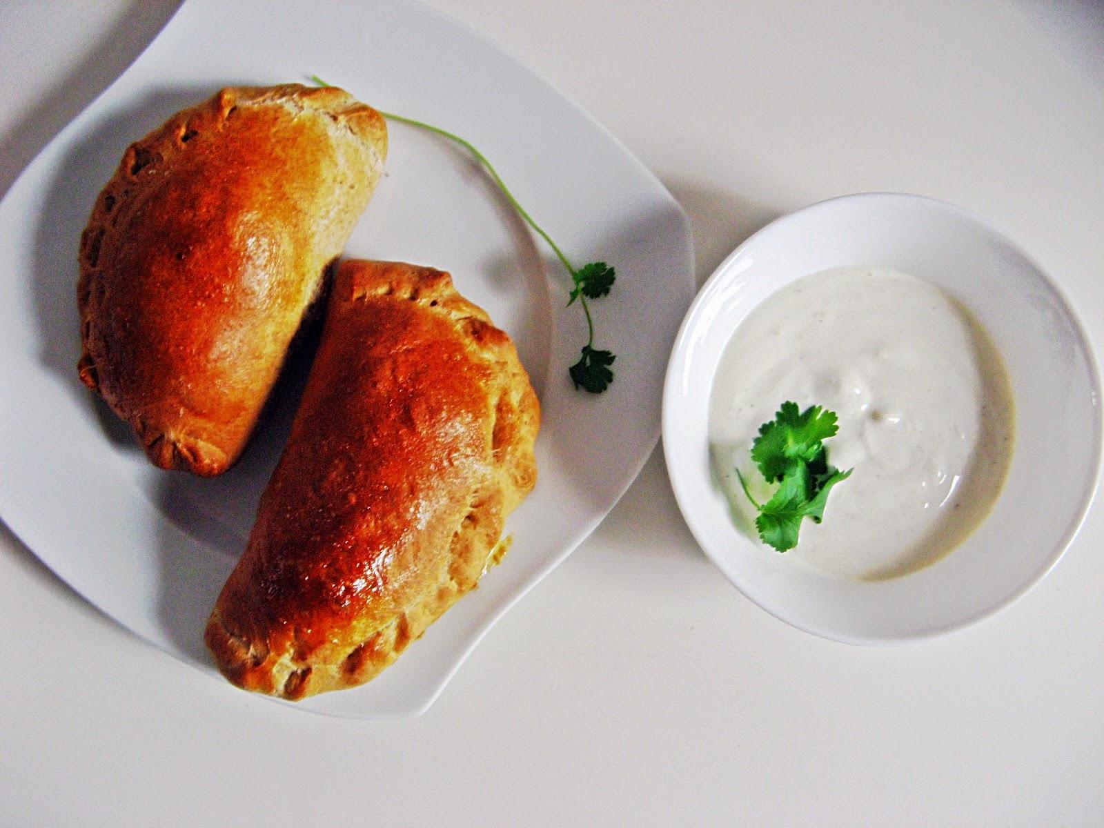 IMG 1717 - Zdrowy fast food, calzone po mojemu- KONKURS IGLOTEX