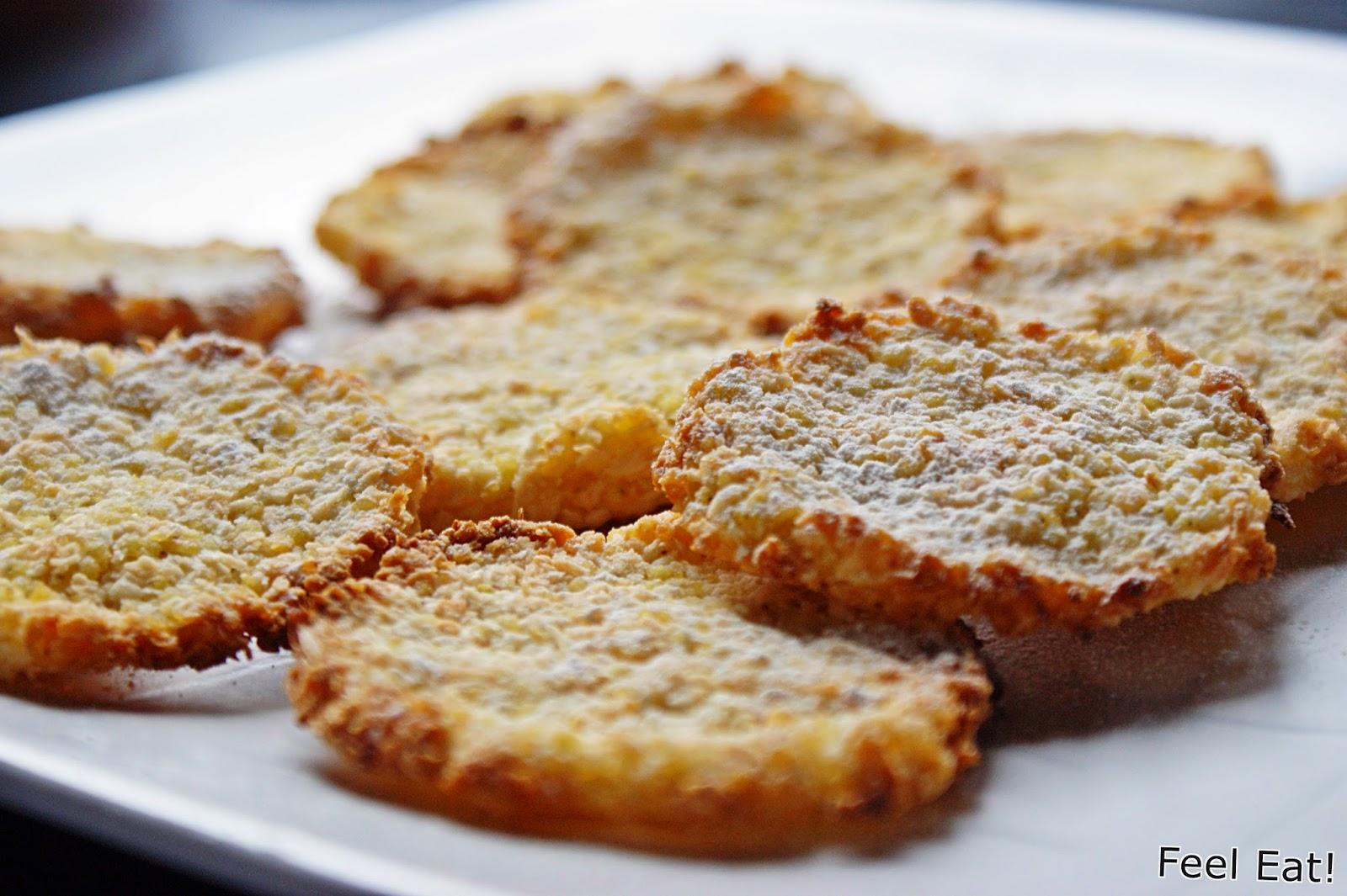 DSC07137 - Dietetyczne wege ciasteczka z kaszy jaglanej i wiórków kokosowych (bez jajek)