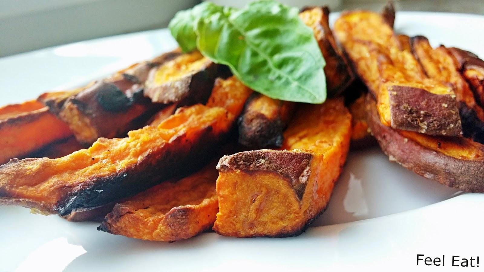 Lepszy zamiennik ziemniaków? PIECZONE BATATY :)