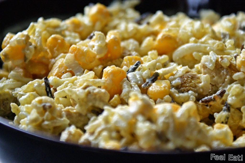 DSC07155 1024x682 - Dietetyczna sałatka z ryżem i kurczakiem curry