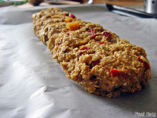 IMG 2040 - Pełnoziarniste biscotti (podwójnie pieczone)