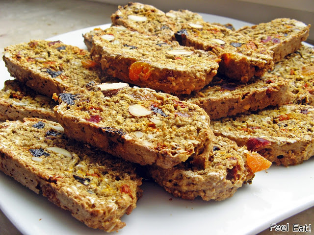 IMG 2055 - Pełnoziarniste biscotti (podwójnie pieczone)
