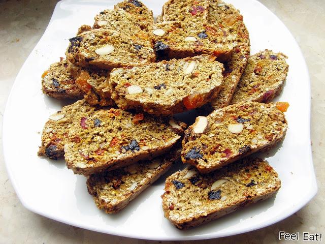 IMG 2056 - Pełnoziarniste biscotti (podwójnie pieczone)