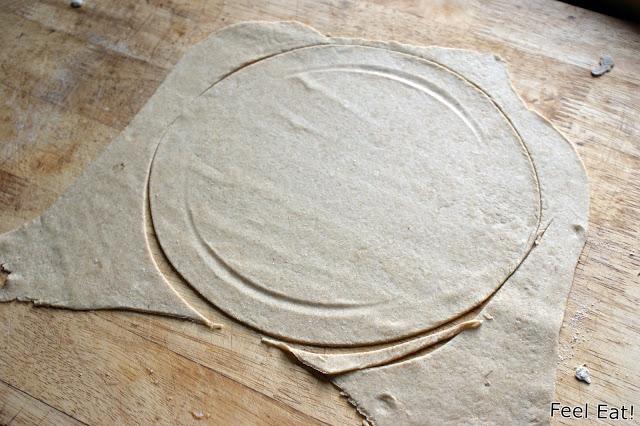 DSC08846 - Pizza na pełnoziarnistej domowej tortilli