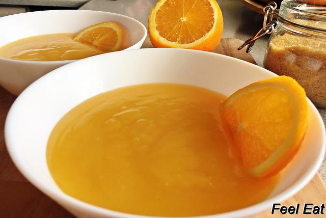 IMG 6088 - Domowy kisiel pomarańczowy