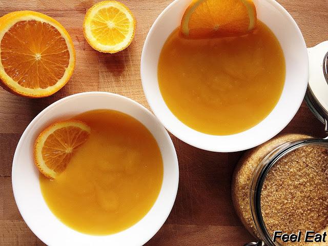 IMG 6092 1 - Domowy kisiel pomarańczowy