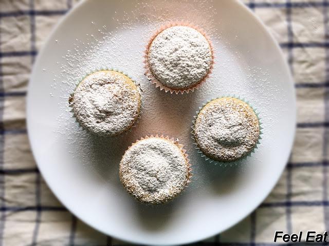 IMG 6623 - Cytrynowe muffiny owsiane