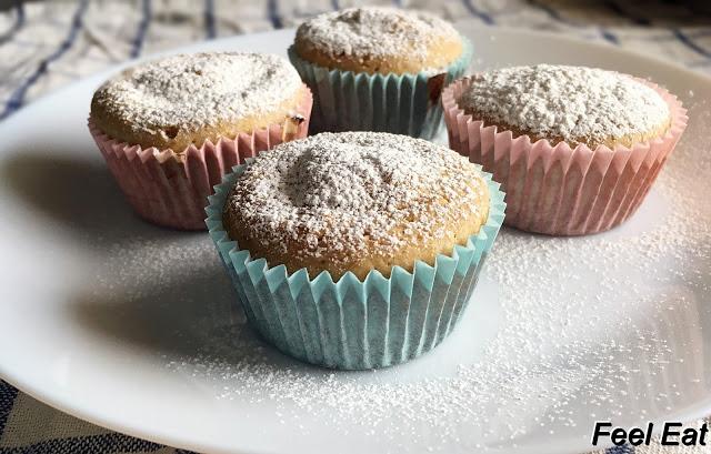 IMG 6626 - Cytrynowe muffiny owsiane