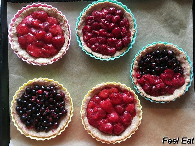 IMG 6746 - Pełnoziarniste tarty z owocami (dietetyczne)
