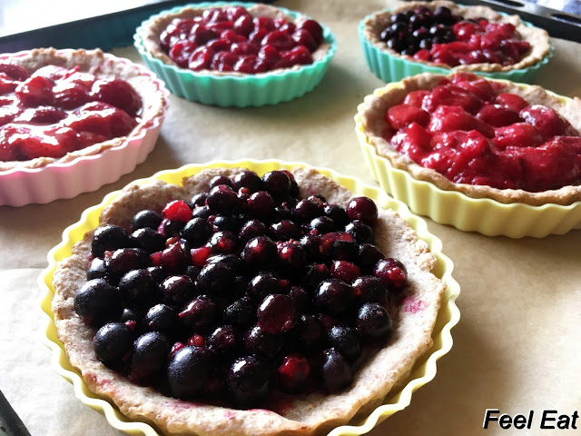 IMG 6747 - Pełnoziarniste tarty z owocami (dietetyczne)