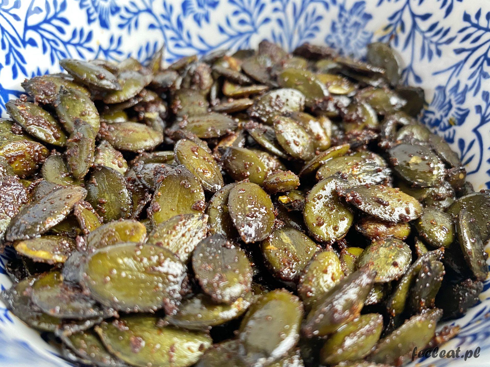 Chrupiące pestki dyni – zdrowa przekąska